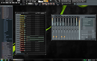 Descargar Black Metal Skin para Fl Studio