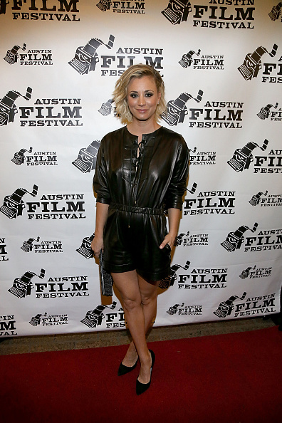 Actress @ Kaley Cuoco at World premiere of the new film 'Burning Bohdi'