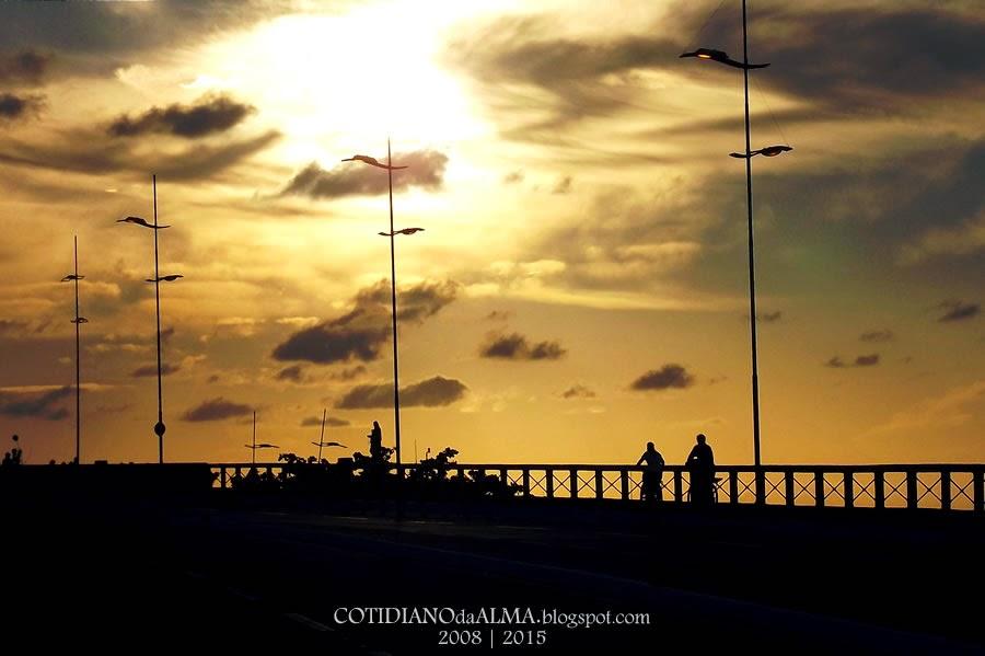 Ezequiel Rodrigues. Cotidiano da alma. Rio Potengi. Natal. Cidade do sol. Ponte Newton Navarro. Ciclista. Bike. Bicicleta.