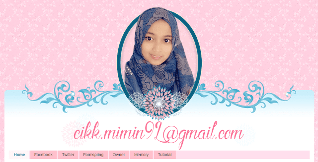 Template Blog Mimin Adam, edit blog murah, design blog murah, blog bingkisan hati
