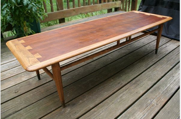 Listed District 100 Lane Dovetail Coffee Table