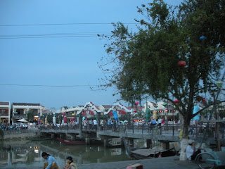 Bridge in Hoi An, Vietnam