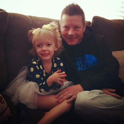 Daddy and Addison