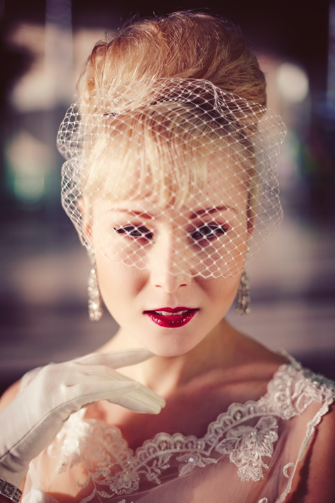 Be Bespoke Bridal Headpieces Ireland - 6 the birdcage veil