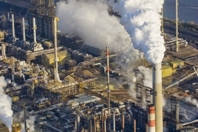 The oilsands in Fort McMurray, Alta. U.S.