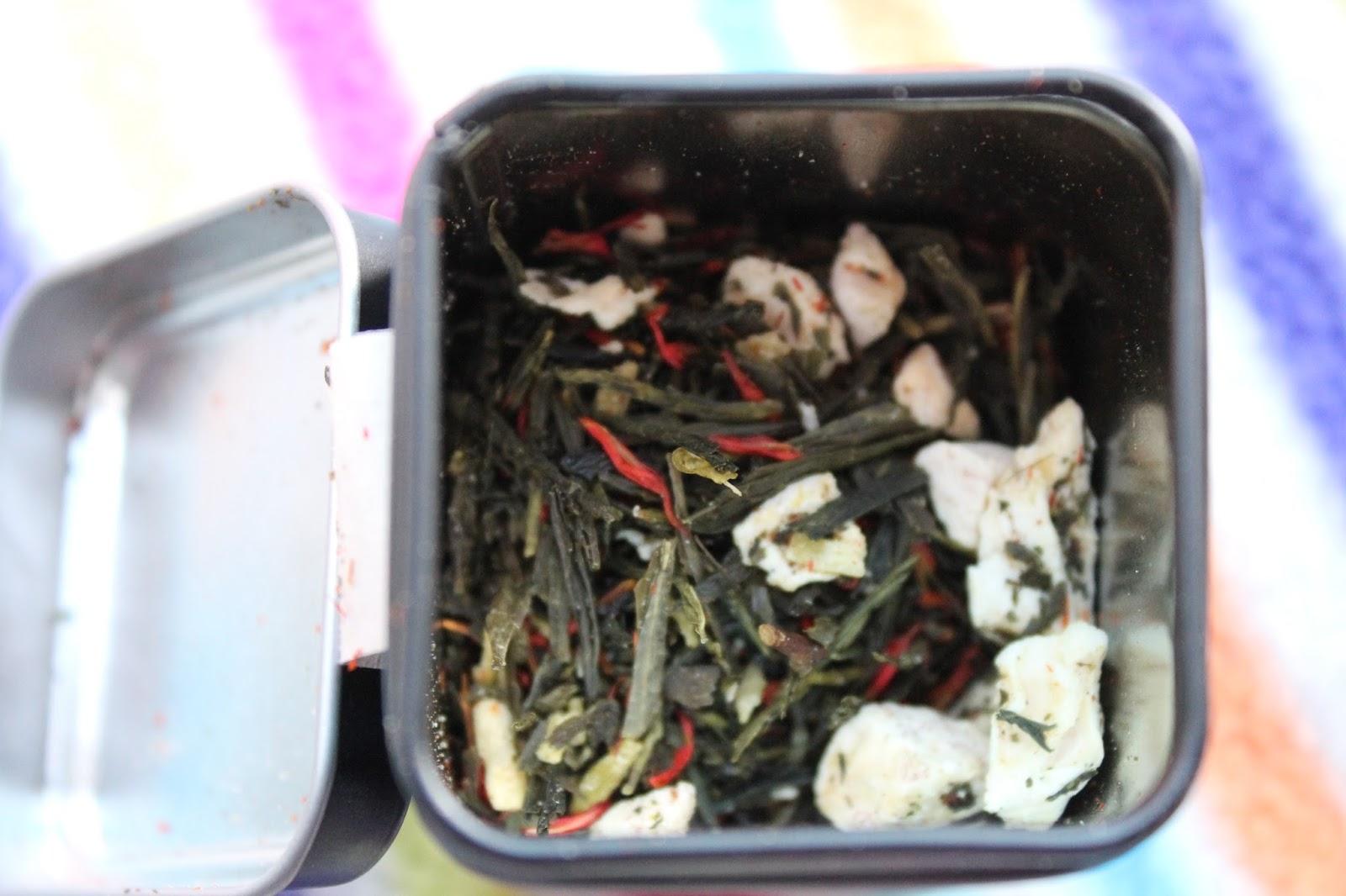 Notes on tea tea review chambre de sucre 39 s world for Chambre de sucre