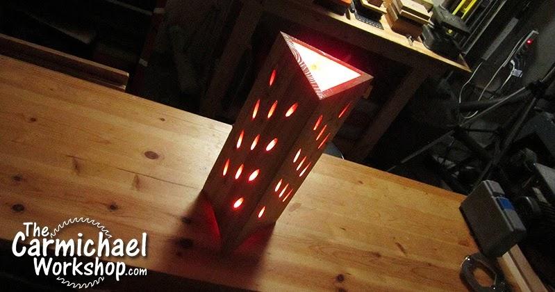 The Carmichael Workshop Pocket Hole Lamp A Kreg Jig Project
