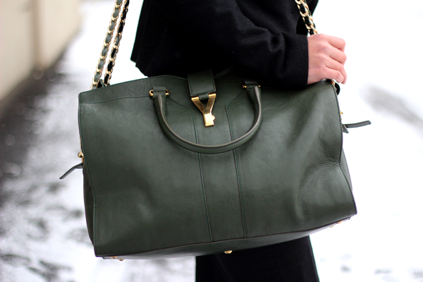 yves st laurent duffle bag - Review: YSL Cabas Chyc Large Leather East West Bag - Fast Food ...