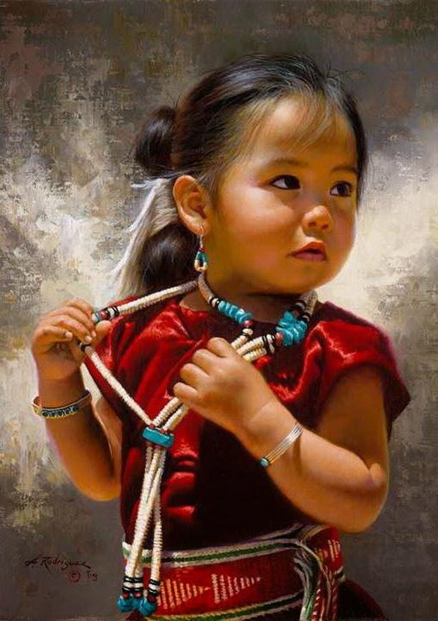 retratos-realistas-de-ninos-en-acuarelas