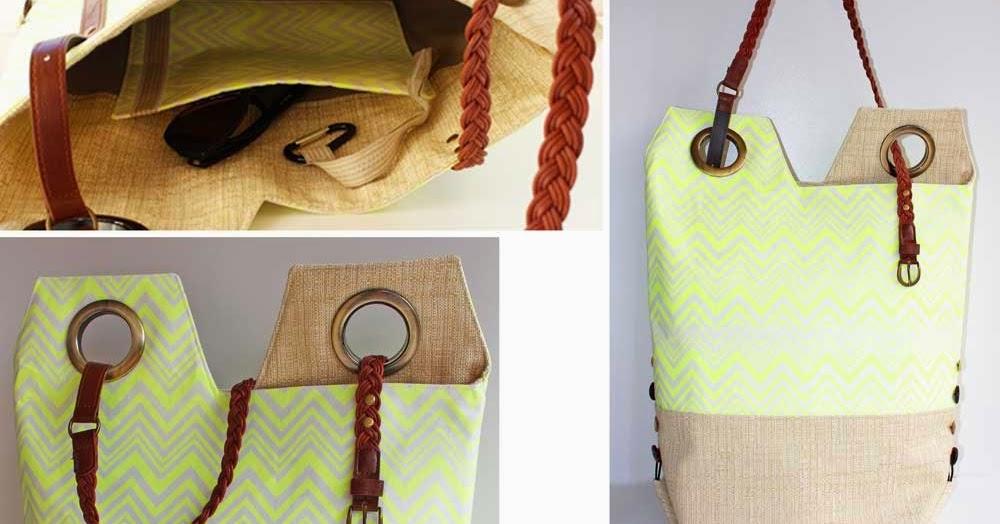 Kreativ oder Primitiv?: Tasche mit raffiniertem Gürtelhenkel