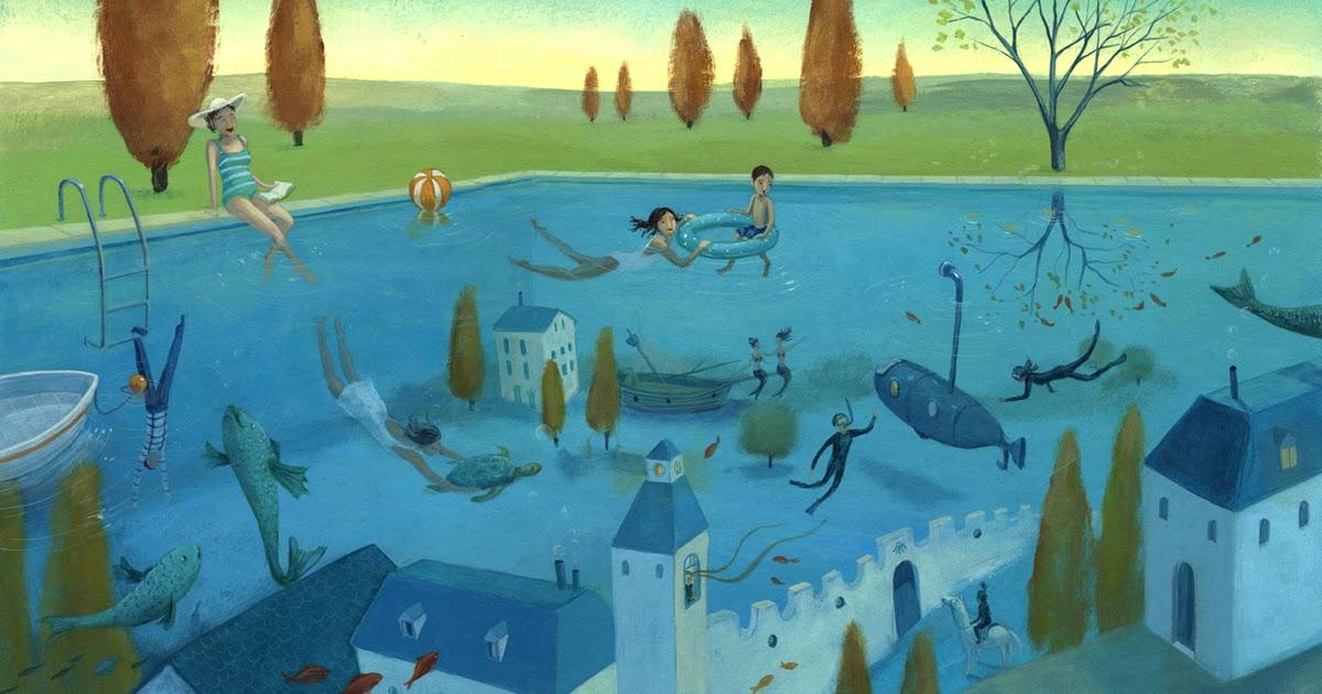La piscina ilustrada la piscina m gica for Piscina la almudena