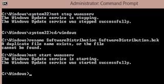 cmd for windows8 update