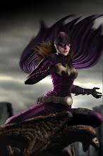 Anna Soriano como Batgirl.