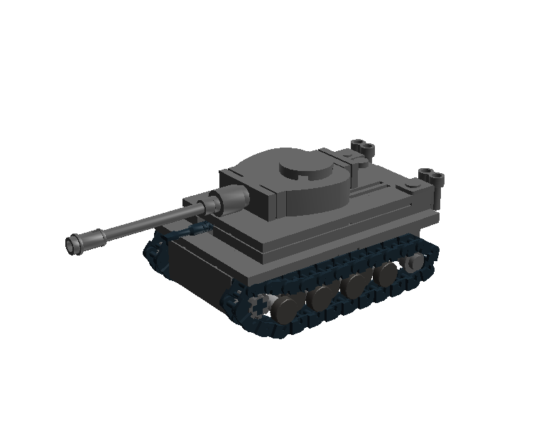 Lego mini tank Tiger I