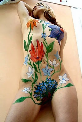 Body Painting Stock Photos