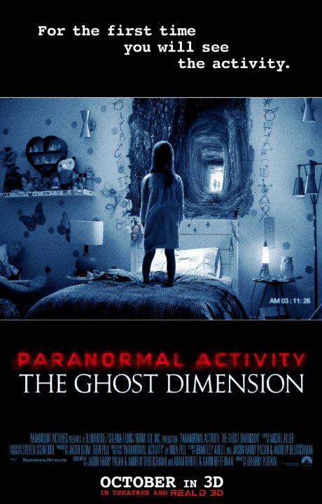 Ver Actividad Paranormal: La Dimensión Fantasma (2015) Online