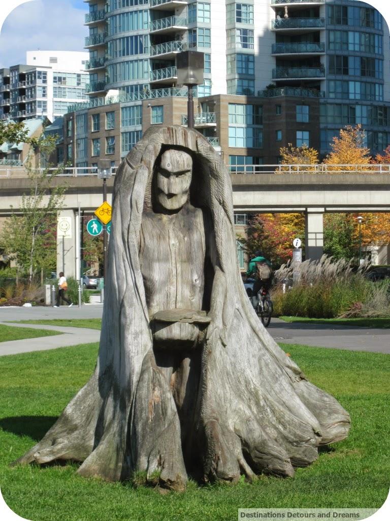 wood sculpture Vancouver