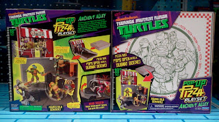 Playmates Ninja Turtles Anchovy Alley Playset