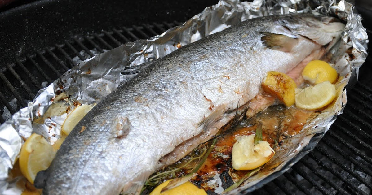 how to cook whole fish in weber