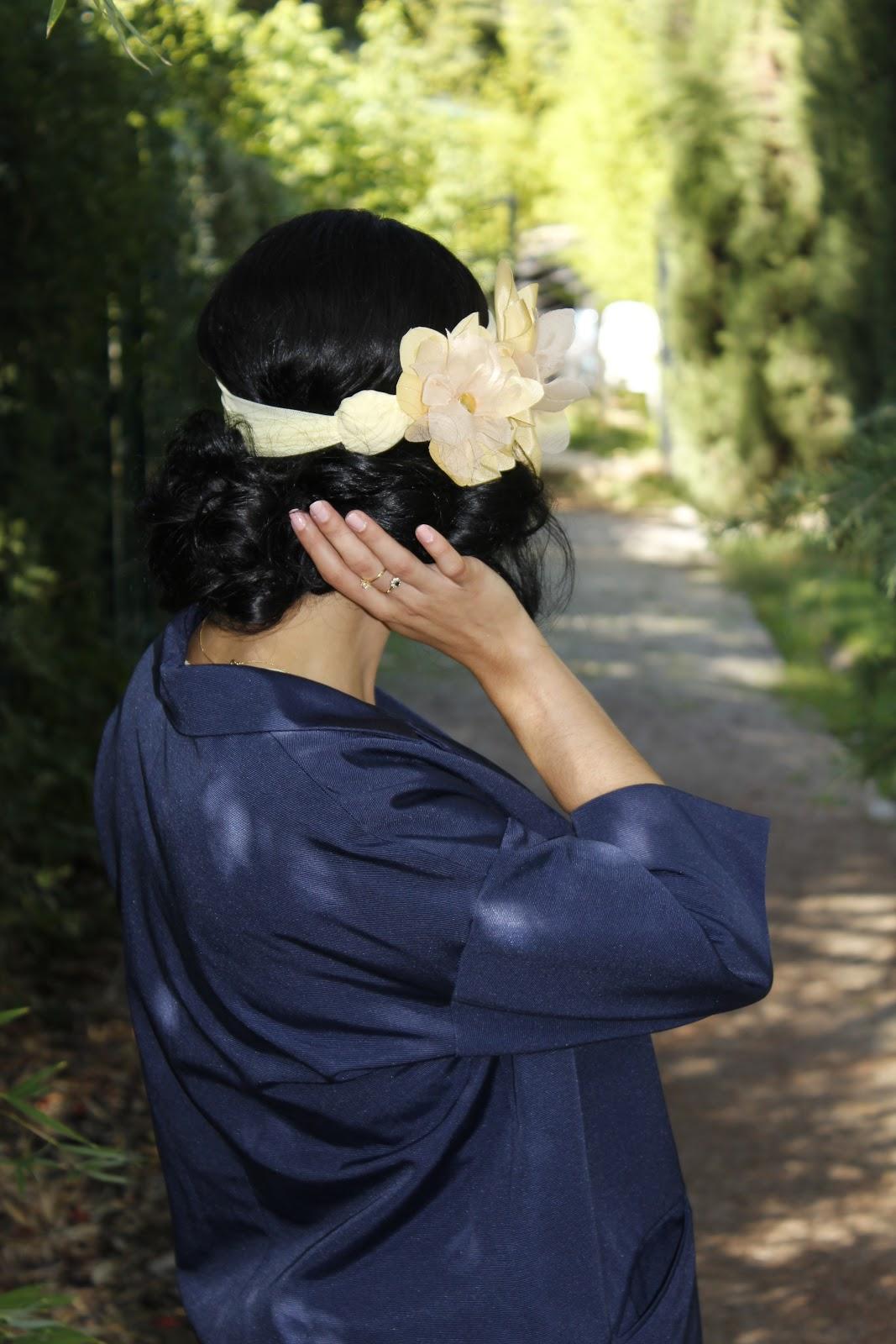 tocados y peinados de fiesta y bodas