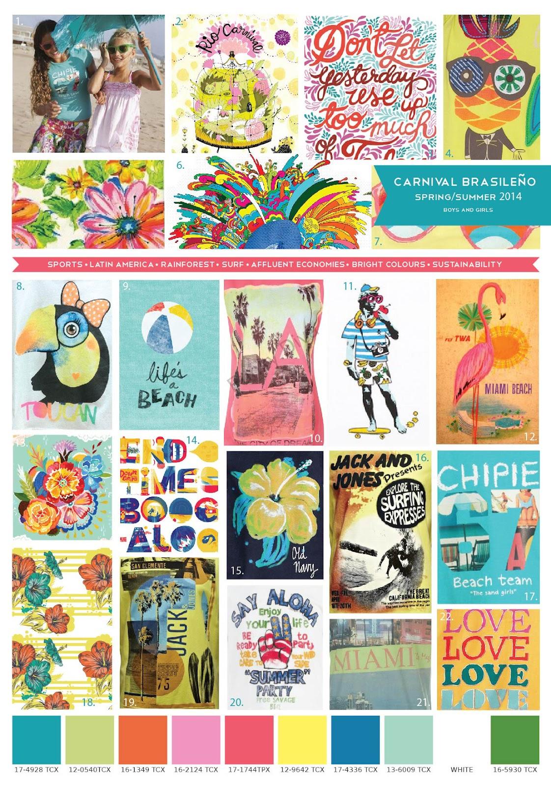 ... am introducing for Spring/Summer 2014 entitled 'Carnival Brasileno