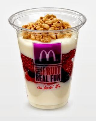 Fruit n' Yogurt Parfait @McDonaldsAtl #ad
