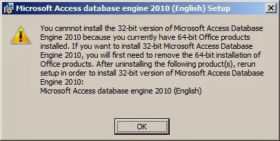 Microsoft Access Database Engine 2013 Redistributable