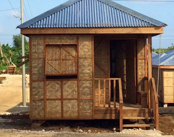 Temporary shelters for Yolanda survivors
