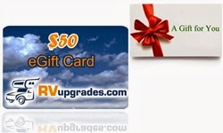 RVupgrades RV Accessories Gift Card