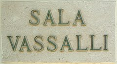 Liceo Vassalli Plaque on School Hall