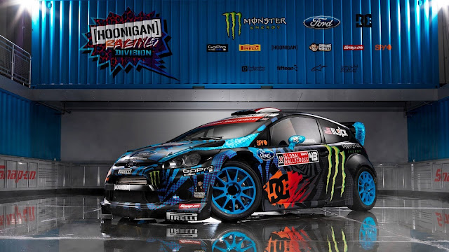 Ford Fiesta Monster Ken Block HD Wallpaper