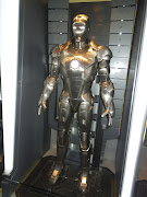 Iron Man Mark II movie costume. I have to say, I loved being able to see all .