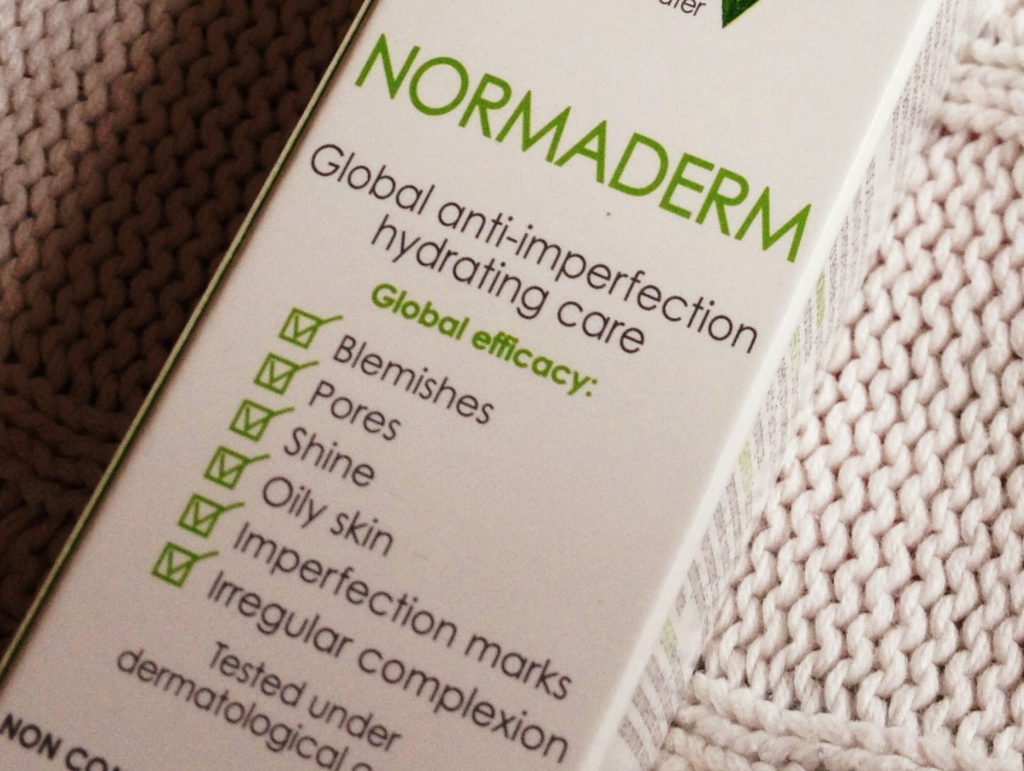 Vichy Normaderm, beauty blog, sensitive skin moisturiser, Normaderm, skincare blog