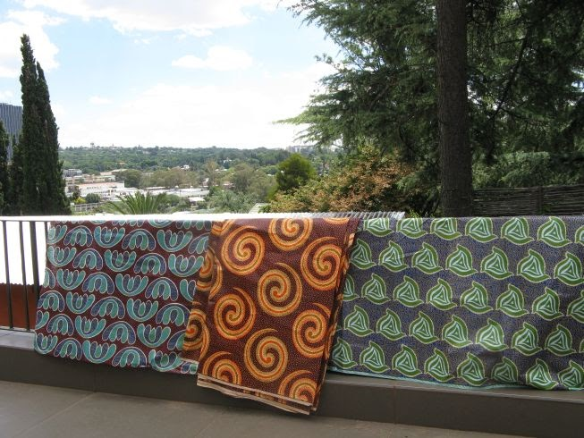 Gone To Smell The Roses More Modern African Fabrics
