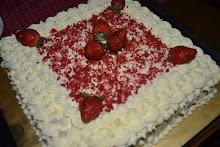 RED VELVET CAKE...