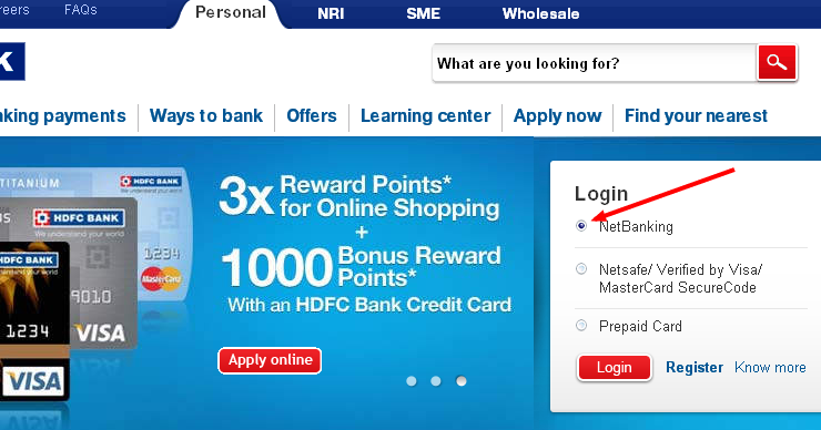 Credit Card Personal Loan Two Wheeler Loan Car Loan Home Loan