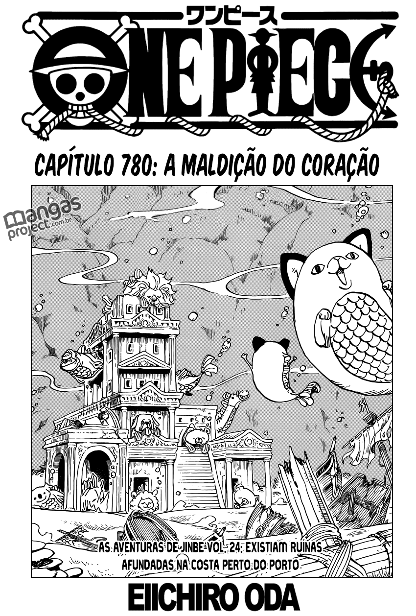 One Piece 780 Mangá Português assistir online legendado