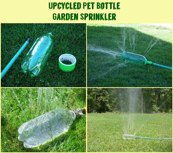 Upcycled Pet Bottle Garden Sprinkler