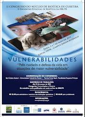 II Congresso de Bioética - Vulnerabilidades 2011