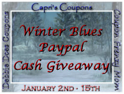 $150 Cash Giveaway! Beat the Winter Blues with money!