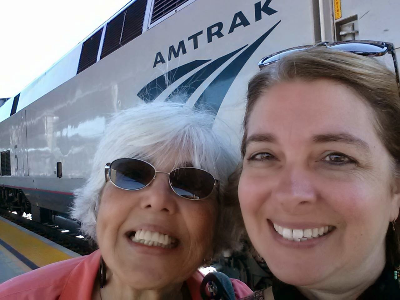 Sacramento Amtrak Station | Navigating Hectivity by Micki Bare