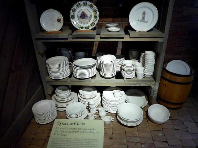 Porcelana de Syracuse en el Erie Canal Museum