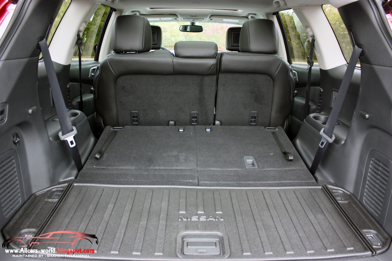 Automotive news 2014 nissan pathfinder hybrid inside the 2014 nissan pathfinder offers an attractive cabin with high quality materials that give it a decidedly premium look especially in the top vanachro Image collections