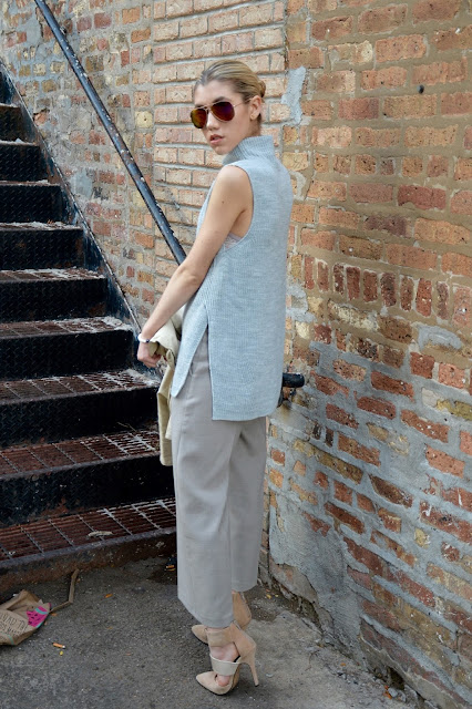 fall ootd, street style, blogger, style, culottes, turtleneck