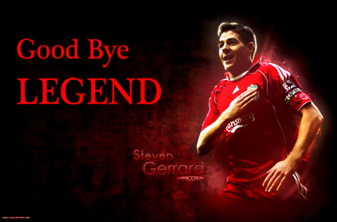 Steven Gerrard Tribute ● Goodbye LEGEND ● Liverpool 1998 2015
