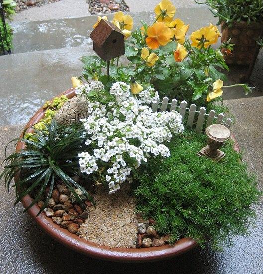 imagens jardins lindos : imagens jardins lindos:jardinagem quero postar aqui algumas ideias reciclando criando jardins