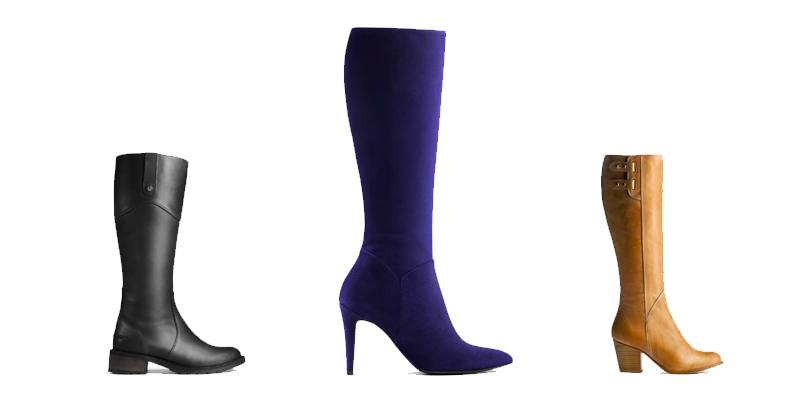 12 marques de bottes mollets larges pour l automne 2015. Black Bedroom Furniture Sets. Home Design Ideas