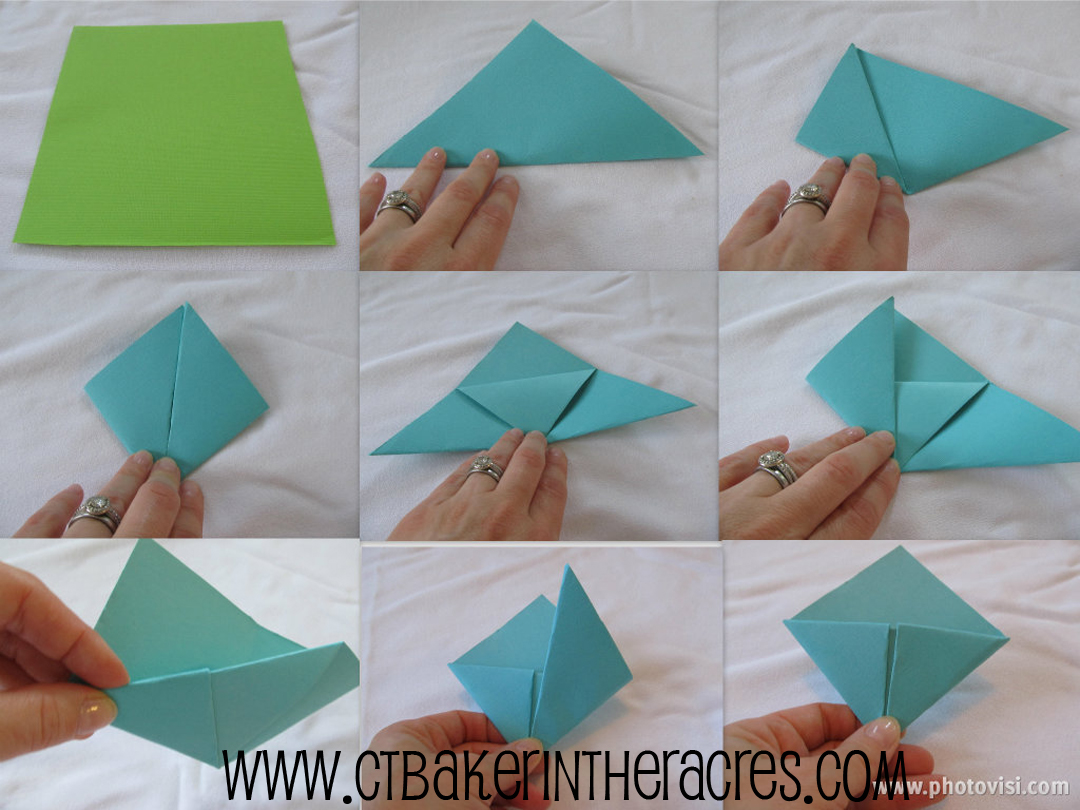 How To Make A Corner Bookmark : Sparkly ladies monster origami bookmarks