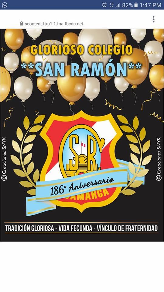 186 ANIVERSARIO DEL GLORIOSO SAN RAMÓN DE CAJAMARCA