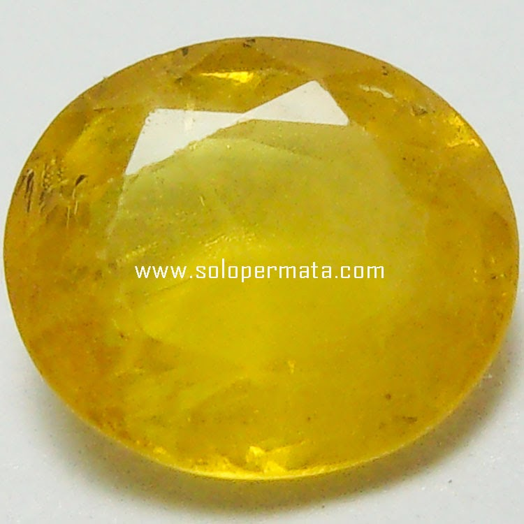 Batu Permata Yellow Sapphire - 25A07